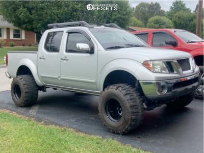 "2010 Nissan Frontier - 15x14 -88mm - Bart Super Trucker - Suspension Lift 6"" - 33"" x 14"""