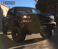 "2006 Chevrolet Silverado 1500 - 17x9 -12mm - Mickey Thompson Classic Iii - Suspension Lift 6.5"" - 35"" x 12.5"""