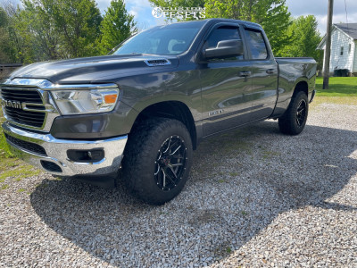 2021 Ram 1500 - 20x10 -12mm - Wicked Offroad W903 - Leveling Kit - 275/70R20