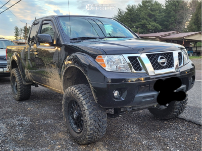"2019 Nissan Frontier - 18x9 -12mm - Anthem Off-Road Intimidator - Suspension Lift 6"" - 33"" x 12.5"""