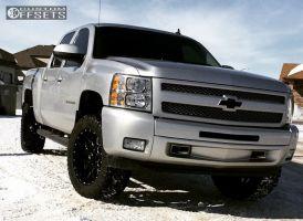 "2011 Chevrolet Silverado 1500 - 20x9 0mm - LRG 104 - Leveling Kit - 33"" x 12.5"""