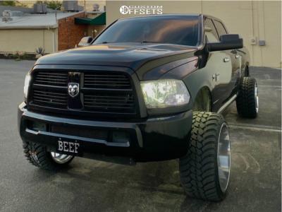 """2010 Dodge Ram 2500 - 24x14 -76mm - Cali Off-Road Summit - Suspension Lift 3"""" - 33"""" x 13.5"""""""