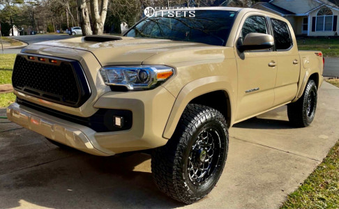 """2017 Toyota Tacoma - 17x9 -12mm - Anthem Off-Road Avenger - Stock Suspension - 32"""" x 10.5"""""""