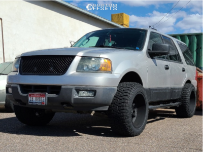 """2004 Ford Expedition - 20x12 -51mm - Vision Split - Leveling Kit - 33"""" x 12.5"""""""
