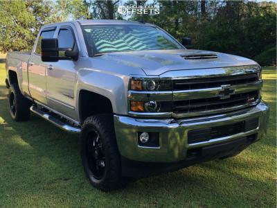 2019 Chevrolet Silverado 2500 HD - 20x9 1mm - Fuel Lockdown - Leveling Kit - 305/55R20