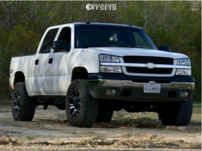 "2005 Chevrolet Silverado 1500 - 20x10 -24mm - RBP 64r - Suspension Lift 4"" - 35"" x 12.5"""