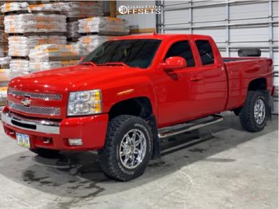"""2011 Chevrolet Silverado 1500 - 18x9 1mm - Fuel Hostage - Suspension Lift 3.5"""" - 32"""" x 11.5"""""""