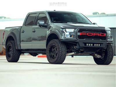"""2018 Ford Raptor - 20x9 18mm - Fifteen52 Offroad Turbomac Hd - Suspension Lift 3.5"""" - 35"""" x 12.5"""""""