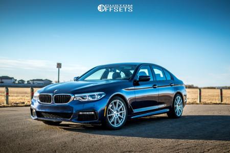2017 BMW 540i xDrive - 19x8.5 35mm - Niche Essen - Stock Suspension - 245/40R19