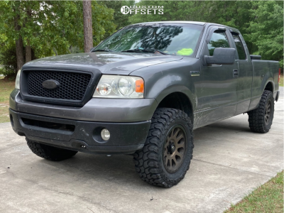 """2007 Ford F-150 - 20x10 -18mm - Fuel Vector - Leveling Kit - 35"""" x 12.5"""""""