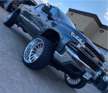 "2020 Chevrolet Silverado 1500 - 26x14 -90mm - American Force Morph Cc - Suspension Lift 8"" - 35"" x 13.5"""
