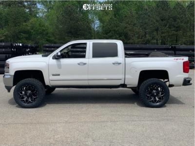 "2016 Chevrolet Silverado 1500 - 20x9 1mm - Fuel Assault - Suspension Lift 6.5"" - 35"" x 12.5"""