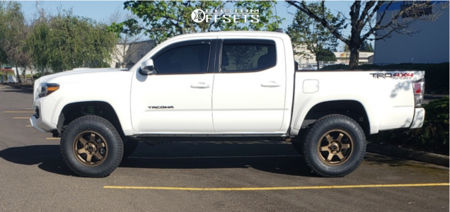 "2020 Toyota Tacoma - 17x8 0mm - Vors Ve37 - Suspension Lift 3"" - 285/70R17"