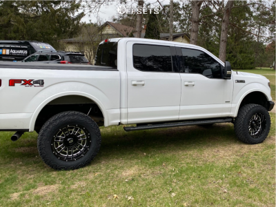 "2016 Ford F-150 - 20x10 -25mm - Vision Widow - Suspension Lift 6"" - 35"" x 12.5"""