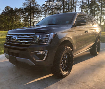 "2020 Ford Expedition - 20x9 0mm - XD XD820 - Suspension Lift 3"" - 33"" x 12.5"""