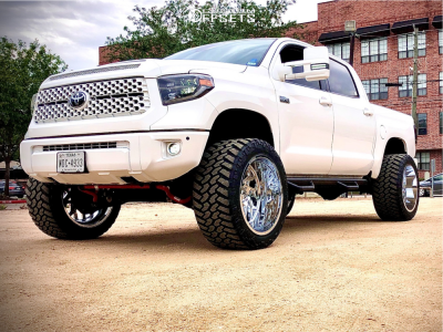 "2019 Toyota Tundra - 24x14 -80mm - RBP 80r - Suspension Lift 6"" - 375/40R24"