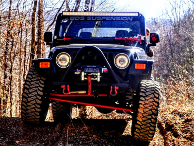"""2005 Jeep TJ - 15x8 -25mm - Pro Comp 51 - Suspension Lift 4.5"""" - 35"""" x 12.5"""""""