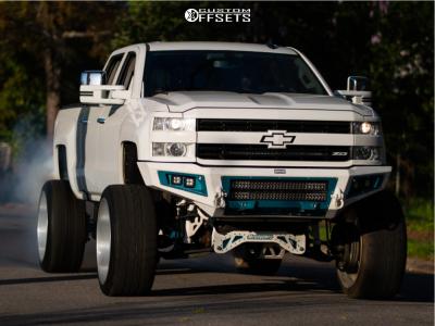 "2016 Chevrolet Silverado 2500 HD - 26x14 0mm - American Force Morph - Suspension Lift 7"" - 37"" x 13.5"""