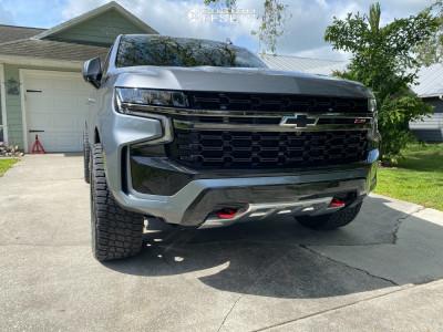 "2021 Chevrolet Tahoe - 22x10 0mm - Fuel Blitz - Stock Suspension - 33"" x 12.5"""