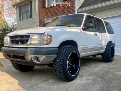 2000 Ford Explorer - 20x12 -51mm - Vision Prowler - Leveling Kit - 275/55R20