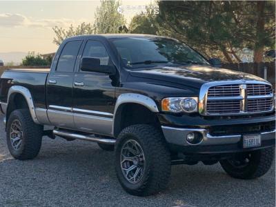 "2005 Dodge Ram 2500 - 20x10 -24mm - 4Play 4p80r - Suspension Lift 6"" - 37"" x 12.5"""