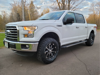 """2016 Ford F-150 - 18x9 18mm - XD XD779 - Leveling Kit - 33"""" x 12.5"""""""
