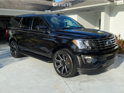 2020 Ford Expedition - 22x9.5 30mm - Dub 8 Ball - Stock Suspension - 305/45R22
