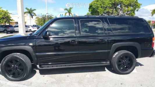 2002 Chevrolet Suburban 2500 - 20x9 0mm - Mickey Thompson Mm-245 - Stock Suspension - 305/20R20