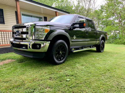 2014 Ford F-250 Super Duty - 20x9 0mm - Alloy Ion Style 143 - Stock Suspension - 275/65R20