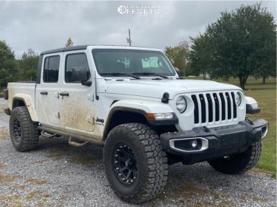 "2020 Jeep Gladiator - 17x9 0mm - XD Addict - Suspension Lift 2.5"" - 35"" x 12.5"""