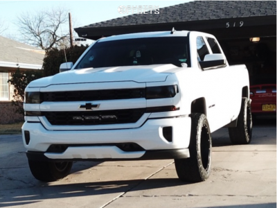 "2016 Chevrolet 1500 - 20x10 0mm - XD Xd849 - Suspension Lift 7"" - 35"" x 12.5"""