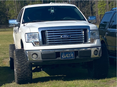 """2010 Ford F-150 - 20x14 -76mm - Fuel Hostage - Suspension Lift 6"""" - 36"""" x 15.5"""""""