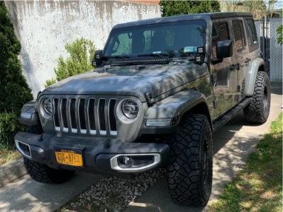 "2021 Jeep Wrangler - 17x9.5 -12mm - Vision Ojos - Stock Suspension - 35"" x 12.5"""