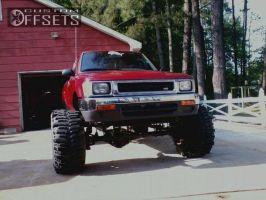 "1993 Toyota Pickup - 15x14 -101.6mm - Bart Bart - Lifted >9"" - 35"" x 14.5"""