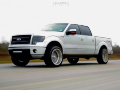 """2014 Ford F-150 - 22x13 0mm - American Force Kash Ss - Leveling Kit - 40"""" x 12.5"""""""