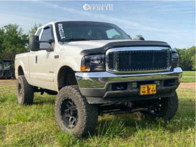"""2002 Ford F-250 - 22x11.5 2mm - Ultra Wheels Other - Suspension Lift 8"""" - 37"""" x 12.5"""""""