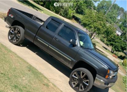 """2004 Chevrolet Silverado 1500 - 26x12 0mm - Replica  - Suspension Lift 5"""" - 35"""" x 12.5"""""""
