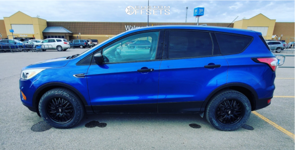2017 Ford Escape - 17x7.5 44mm - Voxx Masi - Stock Suspension - 235/55R17