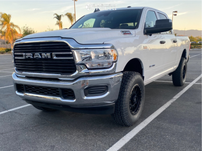 2021 Ram 2500 - 18x9 18mm - Method Nv - Stock Suspension - 285/75R18