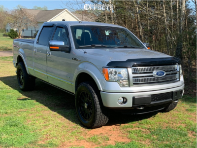 2012 Ford F-150 - 20x9 14mm - Anthem Off-Road Liberty - Leveling Kit - 295/70R20