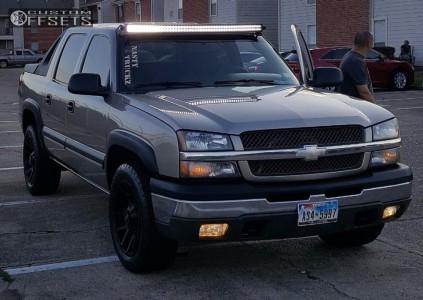 2003 Chevrolet Avalanche - 20x9 12mm - Scorpion Sc9 - Stock Suspension - 275/60R20