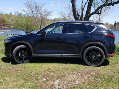 "2021 Mazda CX-5 - 22x8.5 40mm - Strada Perfetto - Stock Suspension - 29"" x 9.5"""