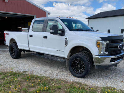 """2018 Ford F-250 Super Duty - 20x10 -18mm - Anthem Off-Road Rogue - Leveling Kit - 35"""" x 12.5"""""""