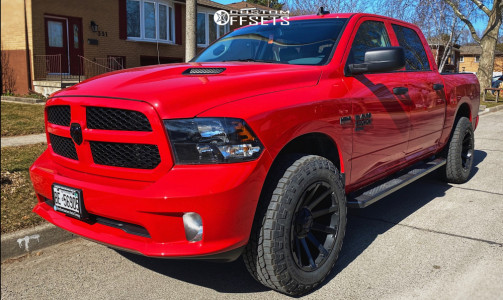 2020 Ram 1500 Classic - 20x10 -18mm - Fuel Contra - Leveling Kit - 275/65R20