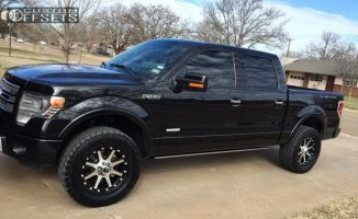 2014 Ford F-150 - 20x9 -12mm - XD Addict - Leveling Kit - 305/55R20