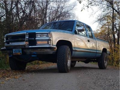"1994 Chevrolet K1500 - 16x10 -24mm - American Racing Ar172 - Suspension Lift 3"" - 285/75R16"