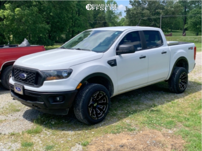 2019 Ford Ranger - 18x10 16mm - XD Boneyard - Stock Suspension - 245/55R18