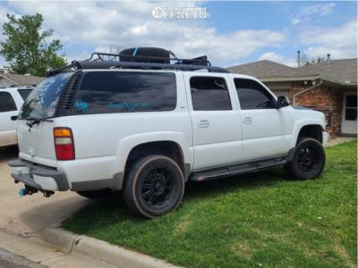 "2003 Chevrolet Suburban 1500 - 20x10 0mm - XD Xd795 - Suspension Lift 3"" - 255/50R20"