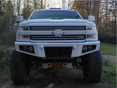 "2015 Chevrolet Silverado 3500 HD - 24x14 -76mm - Hardrock Affliction - Suspension Lift 7.5"" - 345/50R24"