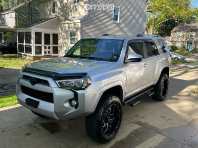 "2019 Toyota 4Runner - 20x10 -24mm - Wicked Offroad W909 - Suspension Lift 4"" - 275/60R20"